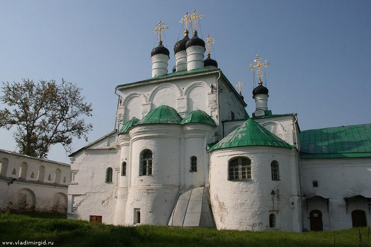 Город александров успенская церковь